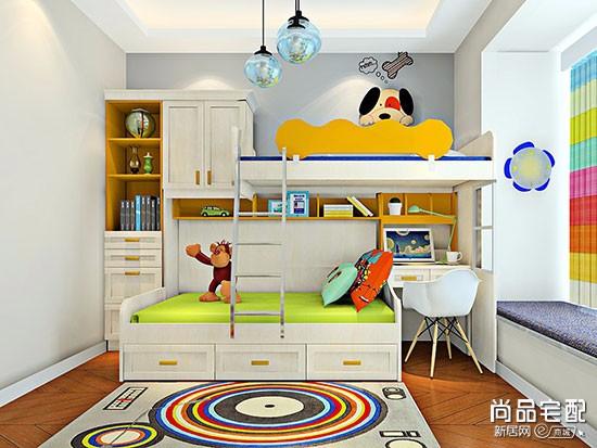 10平米两孩儿童房设计