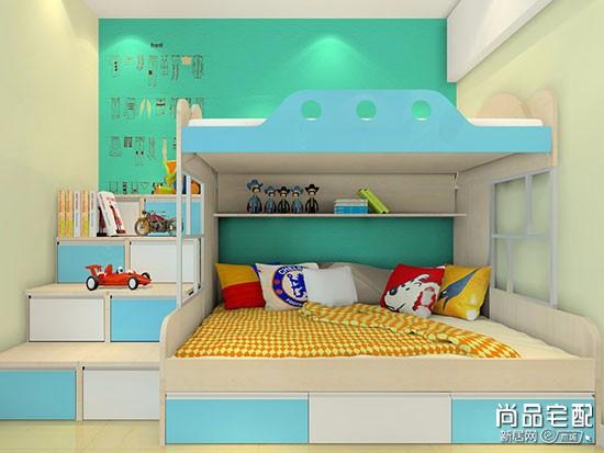 上下床儿童房装修风格