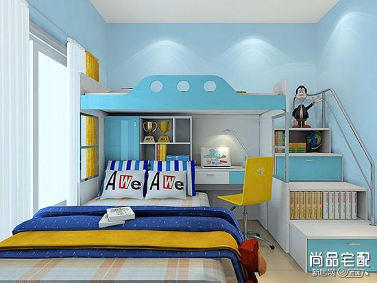 小户型双胞胎儿童房