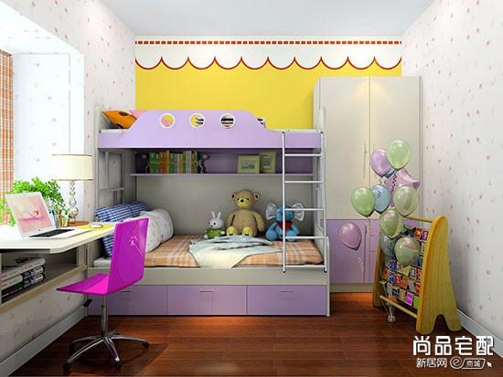 小户型儿童房上下床
