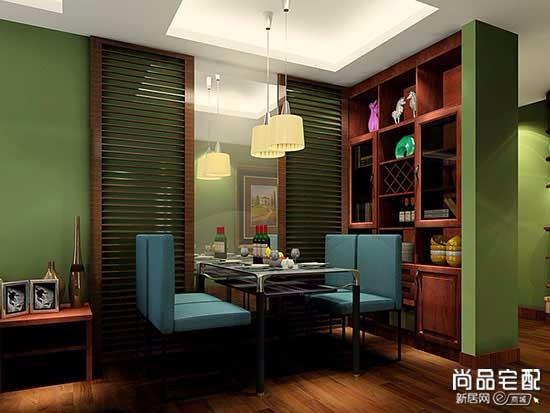 中式雕花博古架
