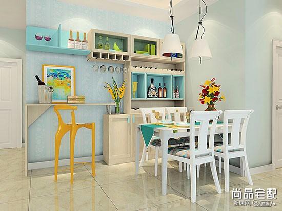 小户型餐厅吧台
