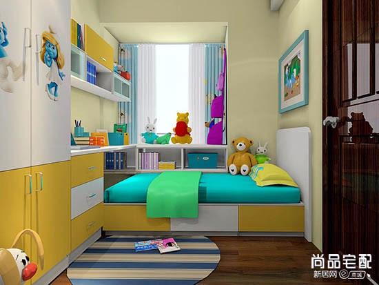 有飘窗的儿童房装修