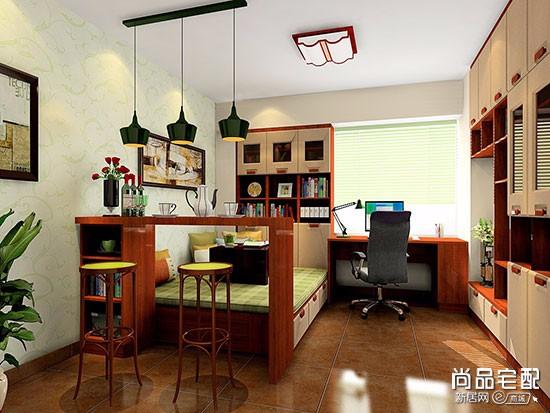 书房卧室一体要怎么装修