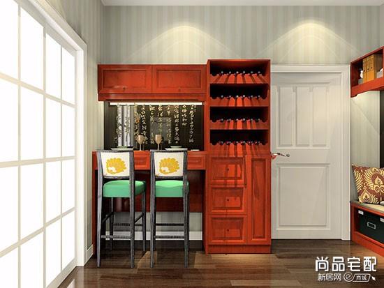 中式仿古酒柜