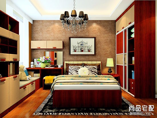 卧室墙置物柜