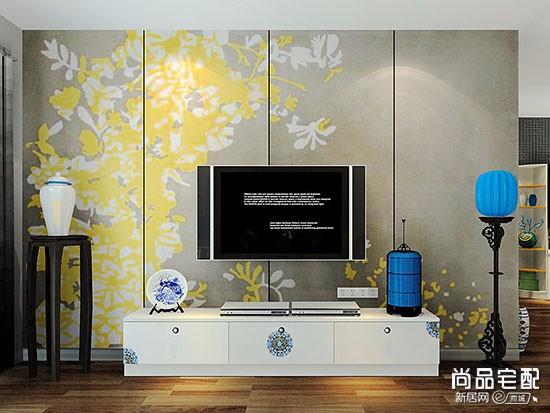 电视背景墙纸价格