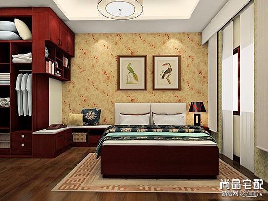 卧室床的对面能挂钟吗