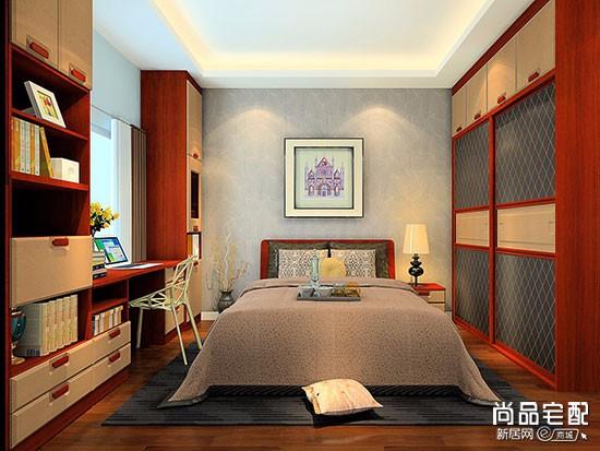 卧室贴pvc墙纸