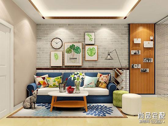 客厅贴墙纸吗