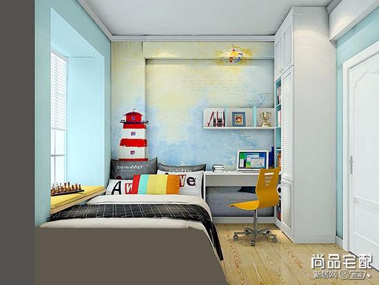 液体壁纸儿童房效果图