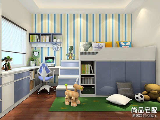 家装儿童房效果图