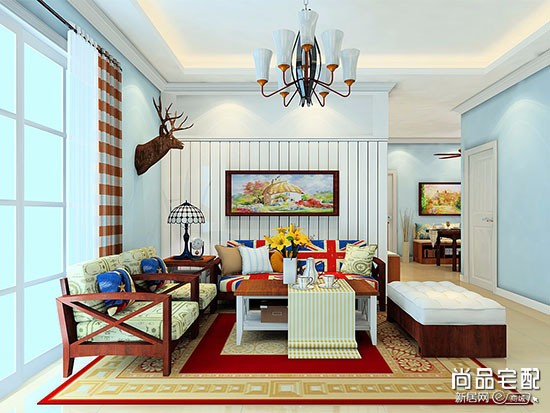 灰色沙发配什么颜色茶几地毯