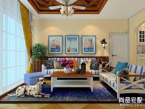 现代简约风格布艺沙发