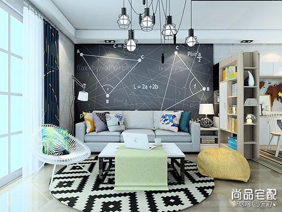 北欧小户型现代布艺沙发