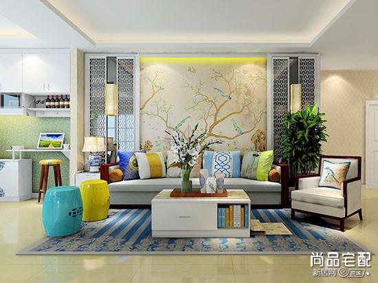 客厅小地毯