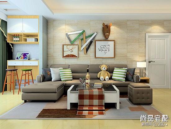 沙发与地毯的搭配图片