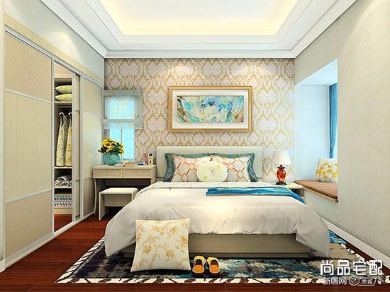 卧室门口放地毯
