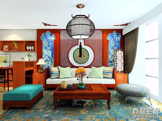 新中式刺绣抱枕