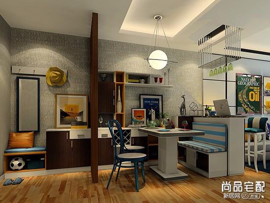 客厅和餐厅吊顶