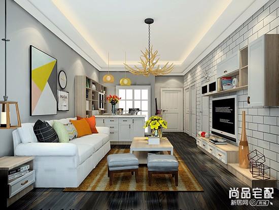 家装客厅吊顶效果图