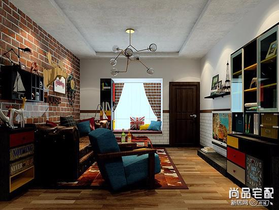现代简约客厅吊灯效果图
