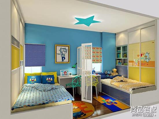 儿童卧室吊顶设计