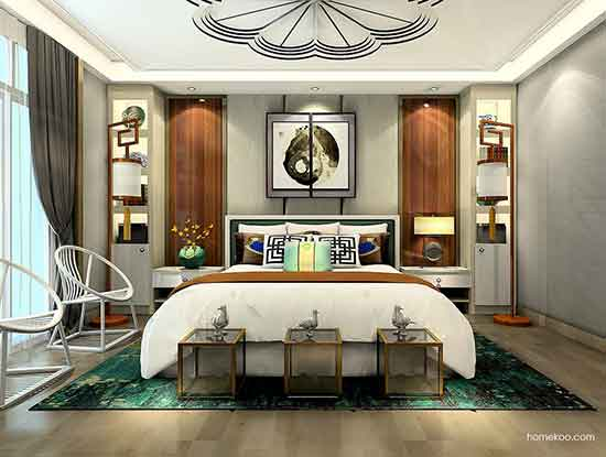 欧式装修效果图两室一厅,看着就很豪华!