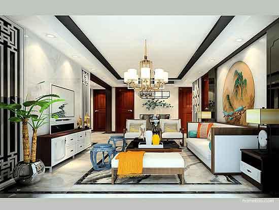 中式古典装修风格样板间效果图,给家温馨的味道