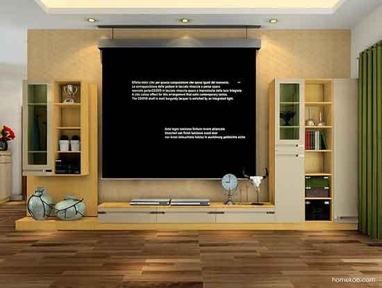 欧式电视背景墙装修图片,高端大气上档次的家装