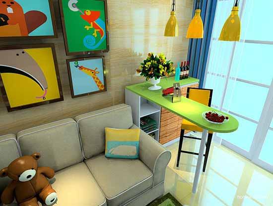 家装吧台设计效果图,让小资情调无限蔓延