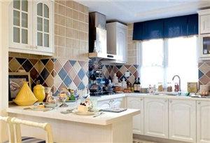 地中海厨房装修效果图大全