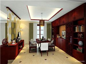 新中式餐厅吊灯图片,一盏灯也能撑起一个空间的颜值