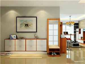 室内玄关设计效果图,照着装修,回家就能感受放松!