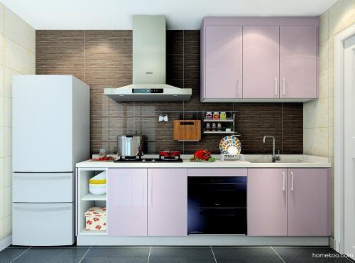 整体厨房橱柜效果图