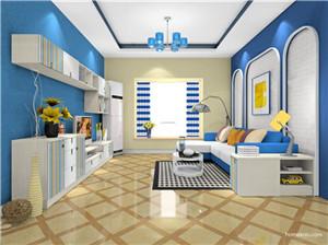 地中海简约风格客厅,让家变得更舒服