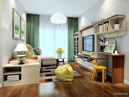 客厅电视柜装修图片,让生活变得轻松而自由