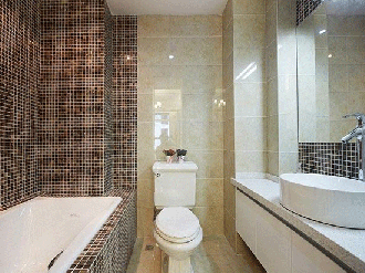 简欧风格卫生间瓷砖