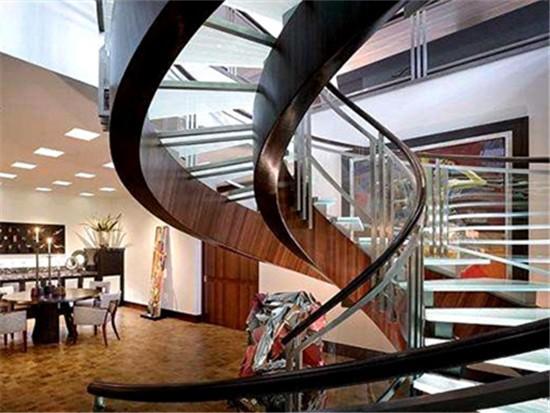 钢制螺旋楼梯