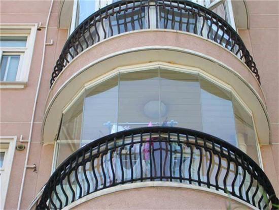 高层封阳台玻璃