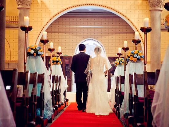 西式婚礼穿什么