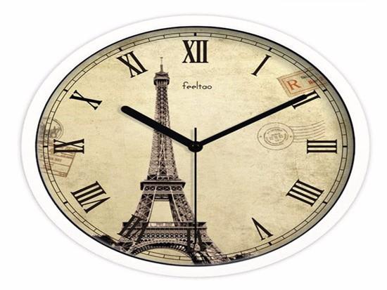 客厅挂钟选择多大尺寸