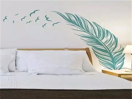 卧室墙纸贴图