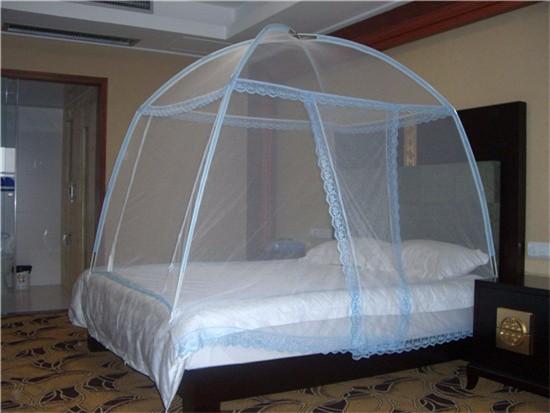 蒙古包蚊帐上铺可以