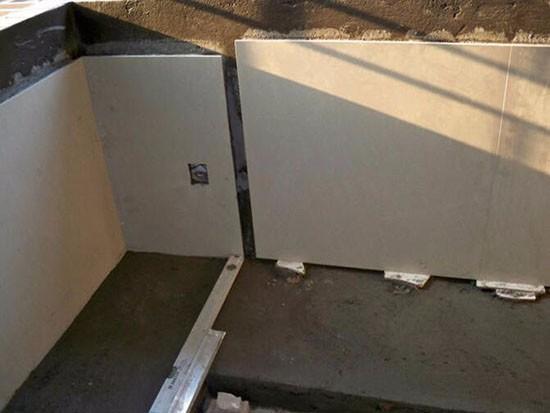 厨房橱柜砖结构图片