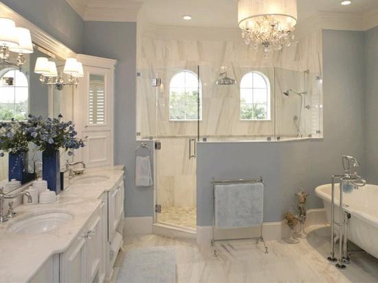 家装卫生间瓷砖的铺设