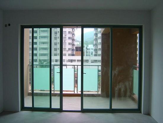 阳台与客厅隔断门