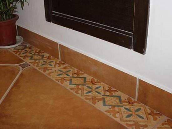 瓷砖踢脚线效果图