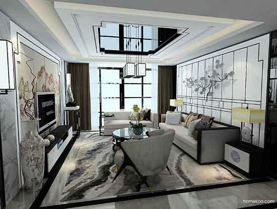 电视柜设计图片,让客厅美美的!
