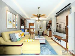 软沙发背景墙效果图,喜欢的可以看看